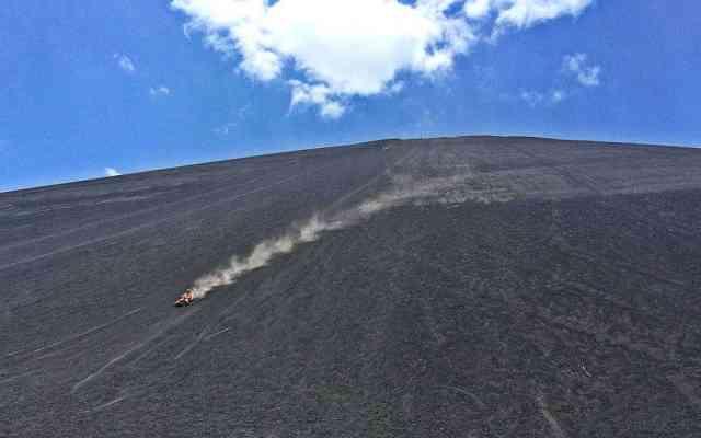 Wild Volcano Boarding in Nicaragua
