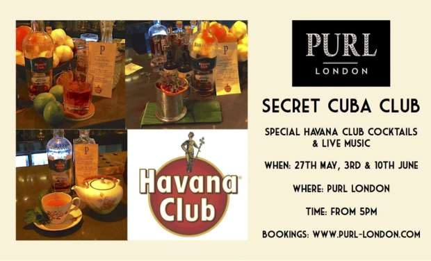 Secret Havana Club Poster