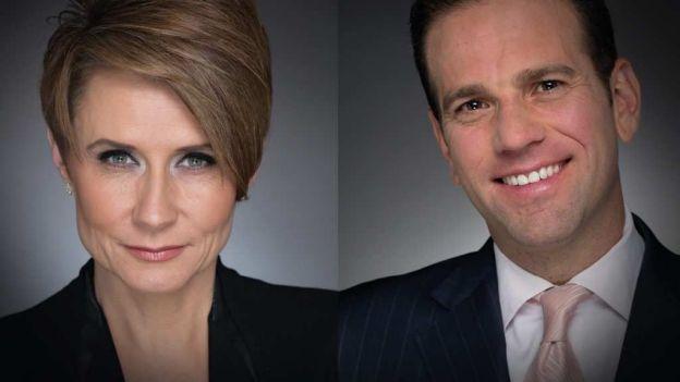 Denise Maerker y Carlos Loret de Mola, nuevos presentadores estrella de Televisa. Foto televisa.com