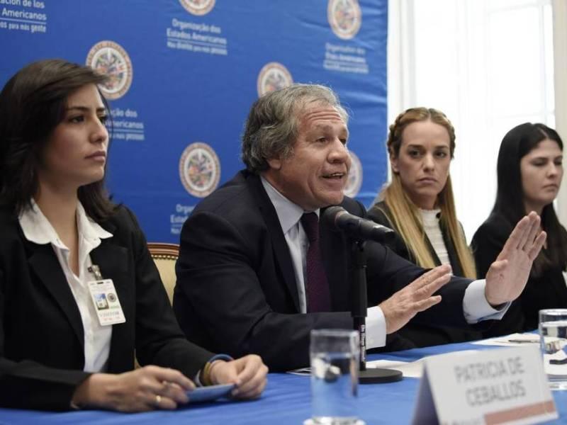 Venezuela narcodictadura Luis Almagro OEA. Foto EFe.elnuevoherald.com