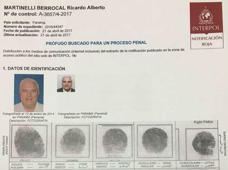Panamá ficha Interpol expresidente Ricardo Martinelli. Foto prensa.com