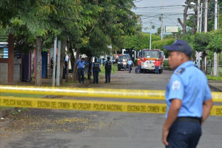 Nicaragua asesinato escolta expresidenta. Foto laprensa.com.ni