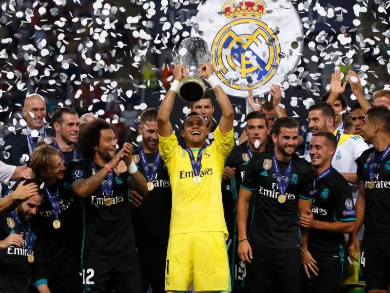keylor Navas Super Copa Europa. Foto realmadrid.comjpg