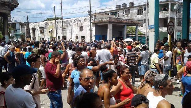 Protestas Cuba. Foto 14ymedio.com