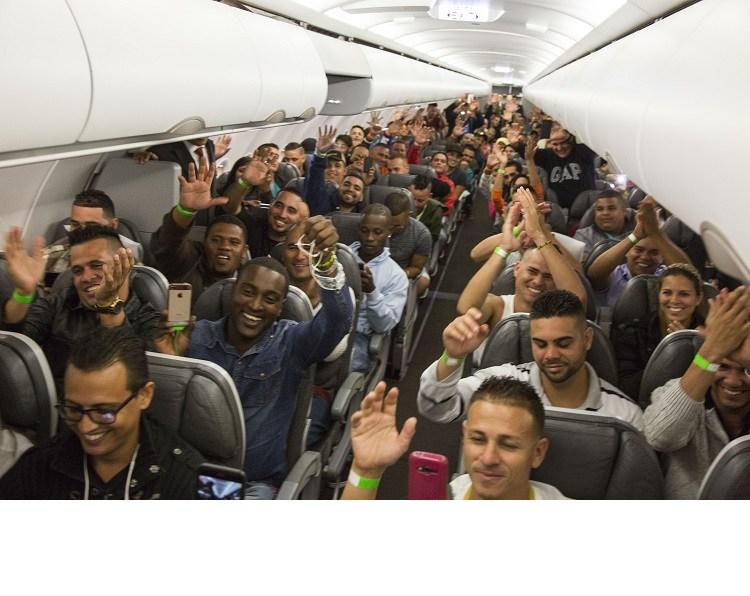 Migrantes cubanos. Foto gobierno.cr