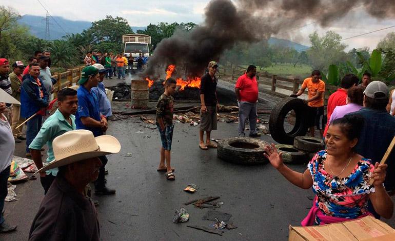 Honduras elecciones caos. Foto latribuna.hn