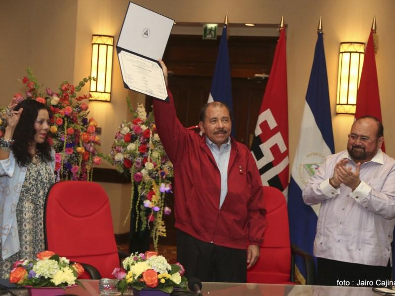 Nicaragua Daniel Ortega. Foto Gobierno Nicaragua