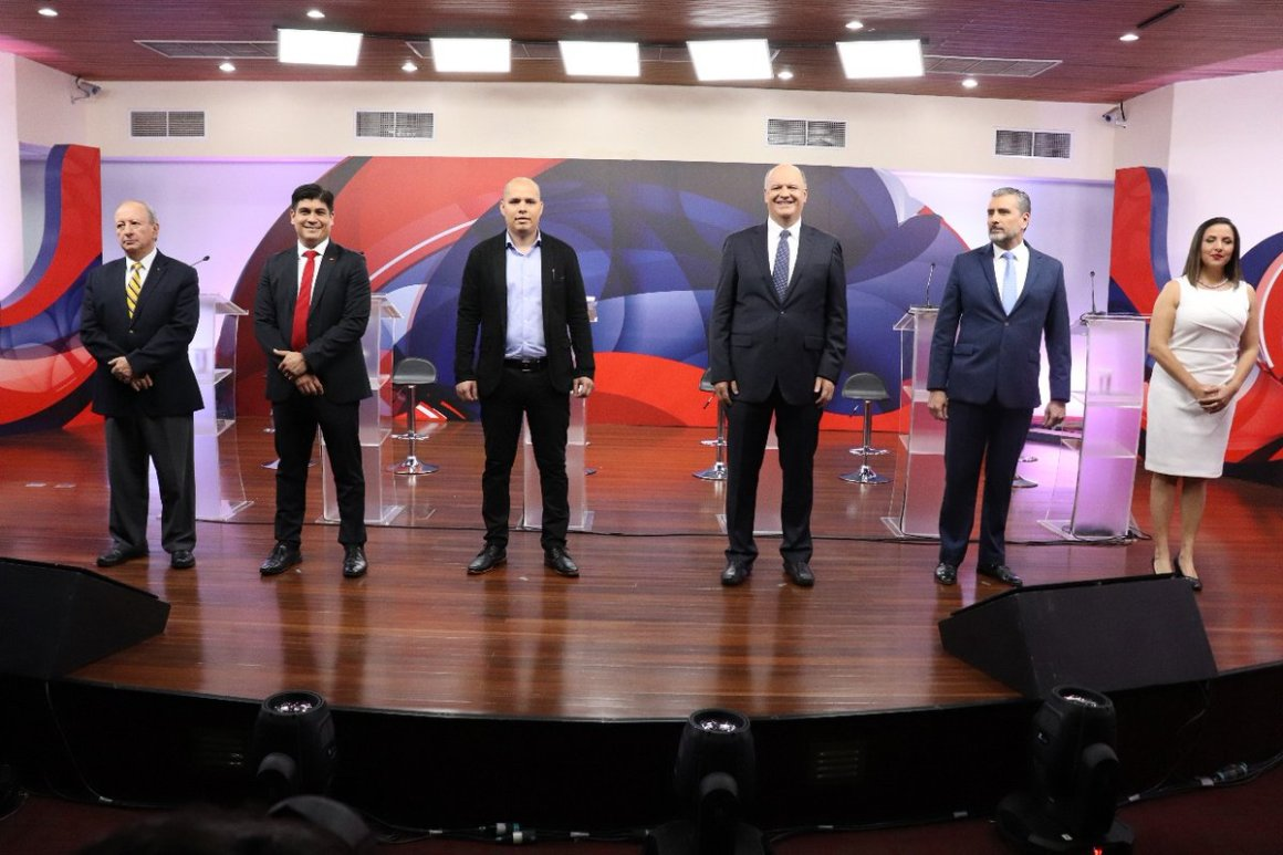 TSE segundo debate elecciones enero 2018. Foto Twitter