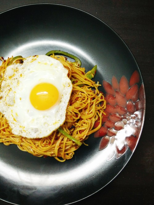 chilli honey noodles