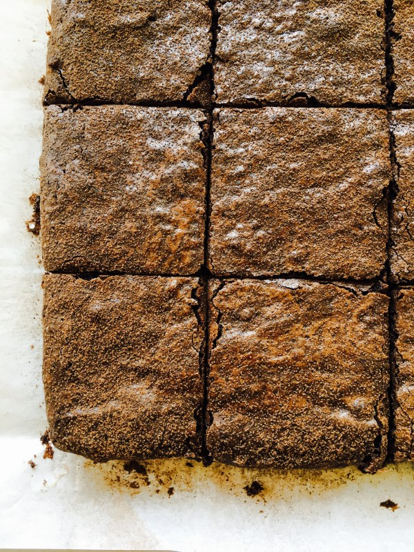 Butterless Fudgy Brownies Recipe