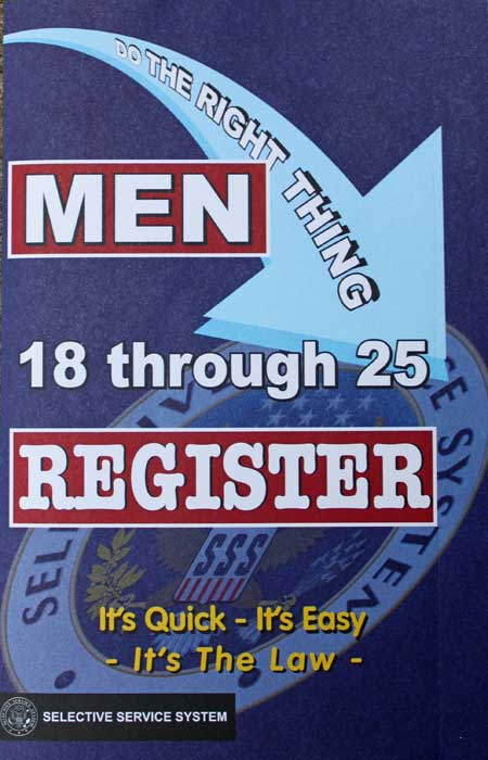 the official form for sexist selective service registration \u2013 purple