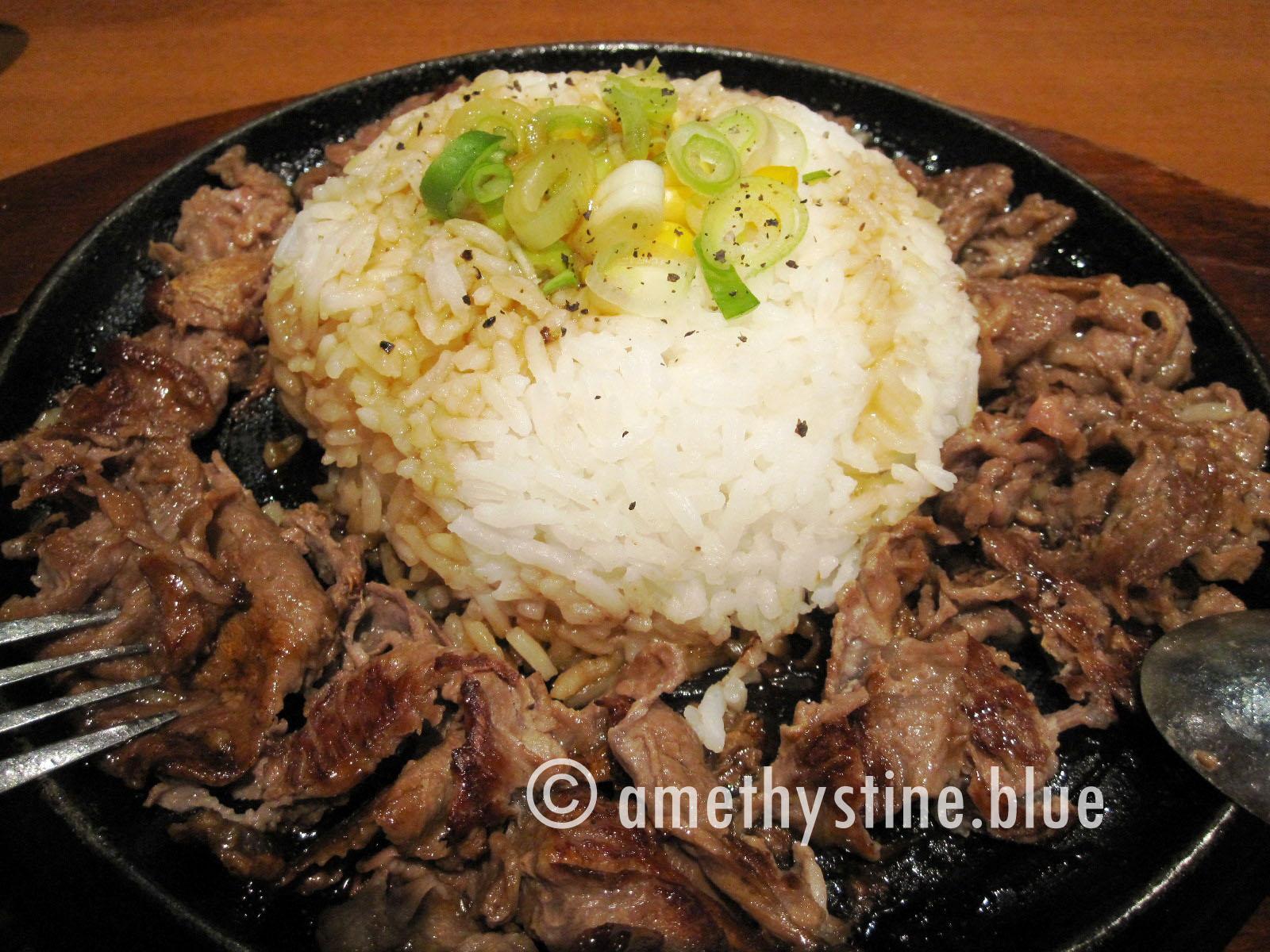 Sizzlin Pepper Steak Beef