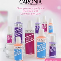 Caronia Salon Care - Cuticle Remover - Cuticle Sanitizer - Nail Polish Remover