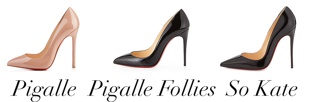 What\u0027s the Difference Christian Louboutin\u0027s Pigalle, Pigalle