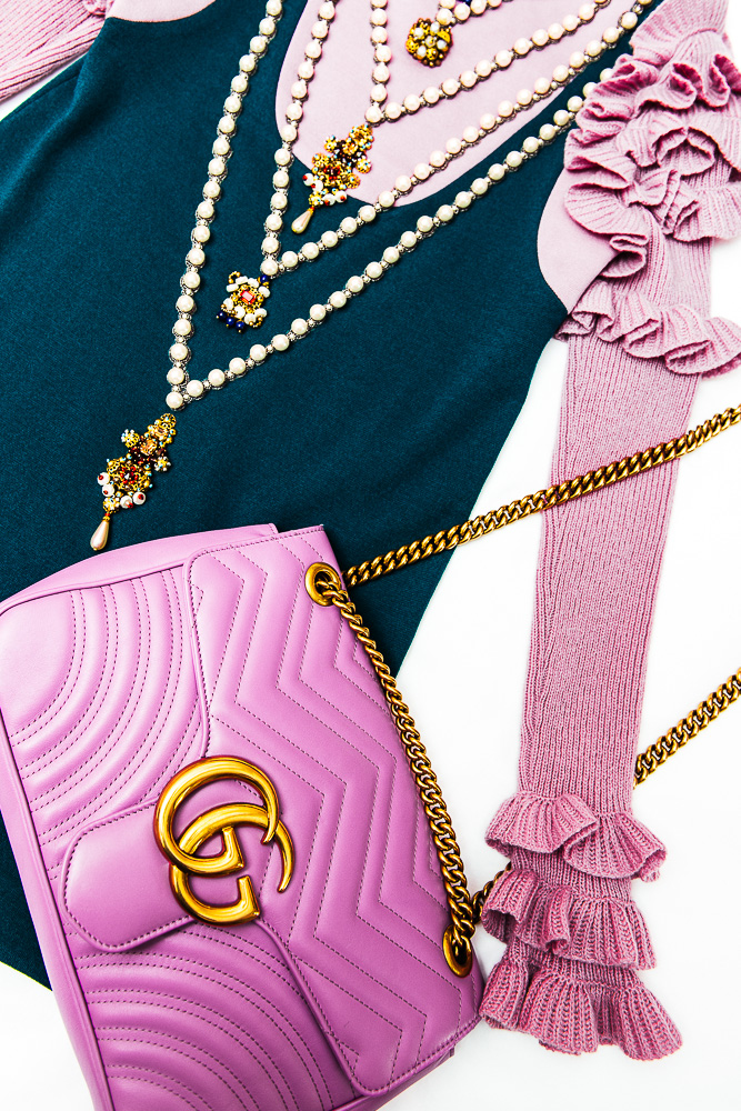 Pink Fall Wallpaper Hd Gucci Marmont Is The Collection Your Fall Wardrobe Needs