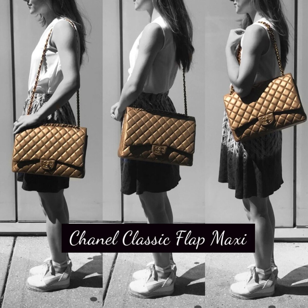 chanel bags classic. model 2 chanel bags classic t