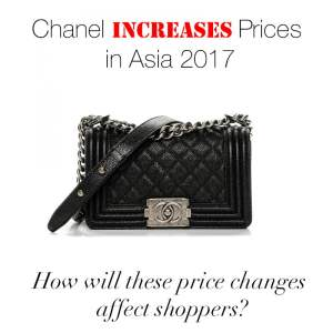 chanelincreasespricesasia