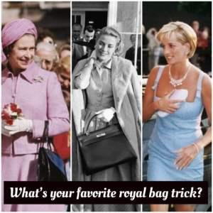 Royal bag trick