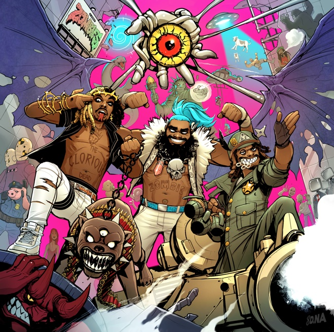 "Flatbush Zombies - ""Bounce"""