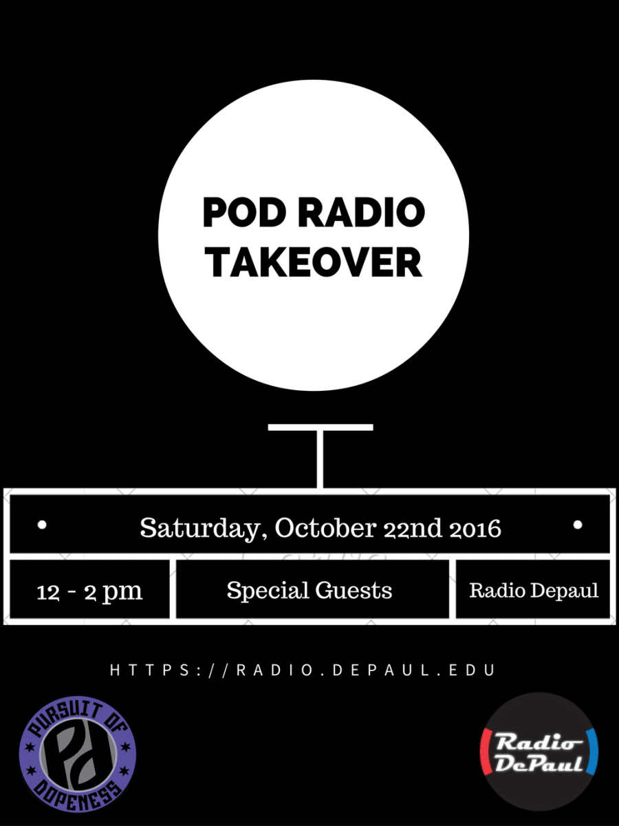Tune In To Our Radio DePaul Takeover on 10/22