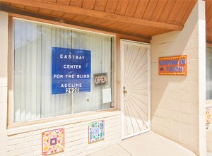 The Front Door of the East Bay Center for the Blind