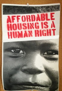 Affordable housing is a human right