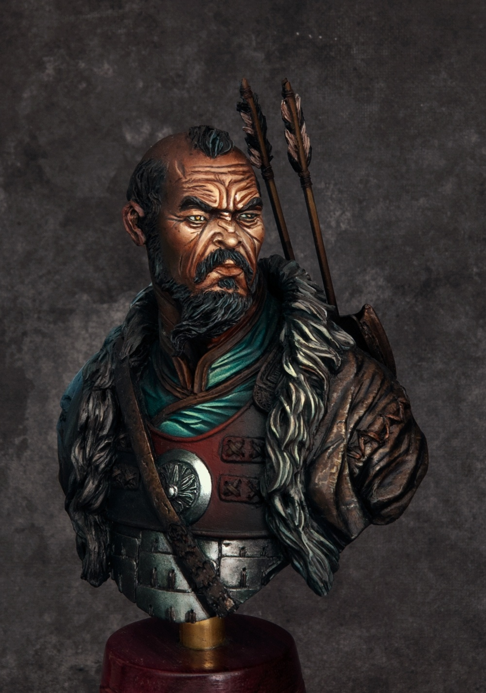 Bright Colors Wallpaper 3d Mongol Warrior By John Quot Darkmessiah Quot Harrison 183 Putty Amp Paint
