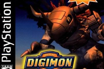 Digimon World - capa