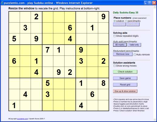 puzzlemix How to solve Sudoku puzzles