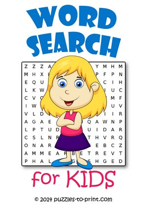 Word Searches for Kids