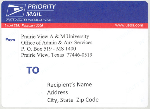 Priority Mail \u2013 Auxiliary Services