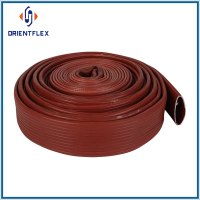 Rubber covered layflat hose, lay flat hose