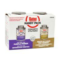 Oatey PVC Cement & Primer Handy Pack