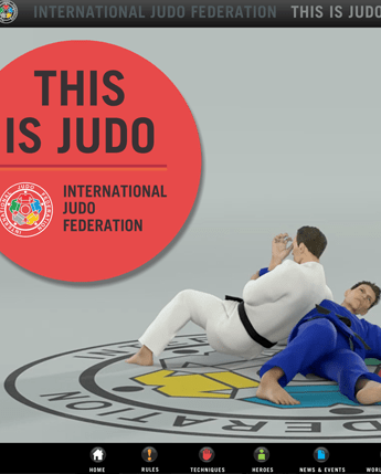 This is Judo - an interactive app for the international judo federation