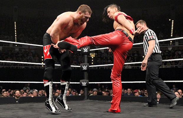 Finn Balor Wallpaper Hd Shinsuke Nakamura And Samoa Joe Busted Open At Wwe Nxt