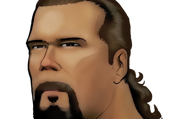 Kevin Nash (art credit Grant Gould (c) PWTorch)