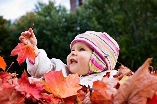 Baby Girl & Autumn