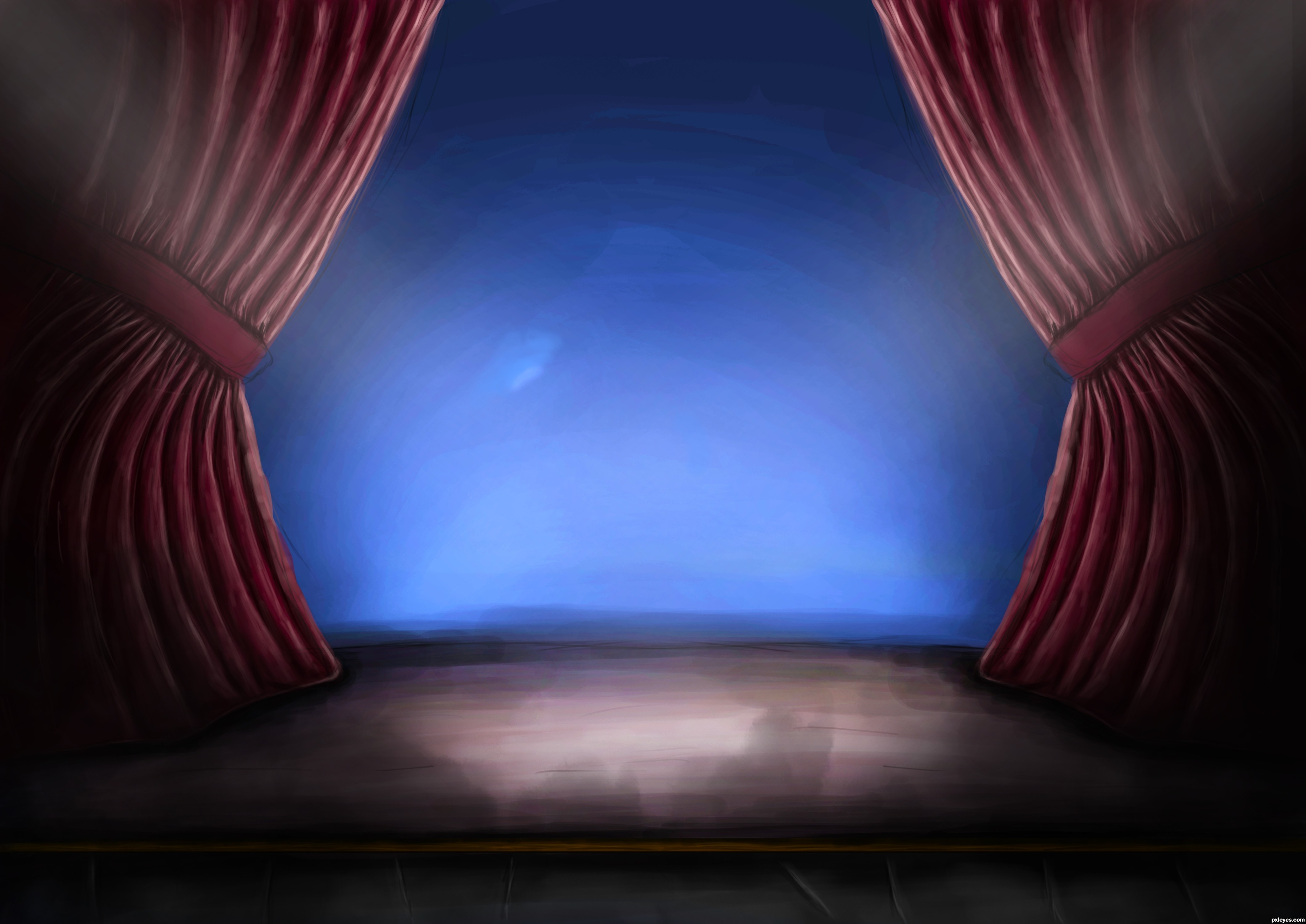 Stage curtain drawing related keywords amp suggestions
