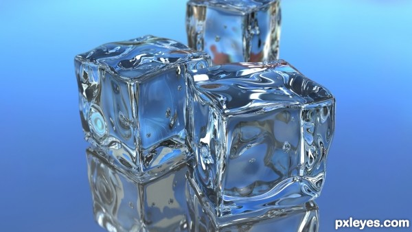 3d Cube Desktop Wallpaper 3d Guide The Making Of Ice Cubes Pxleyes Com