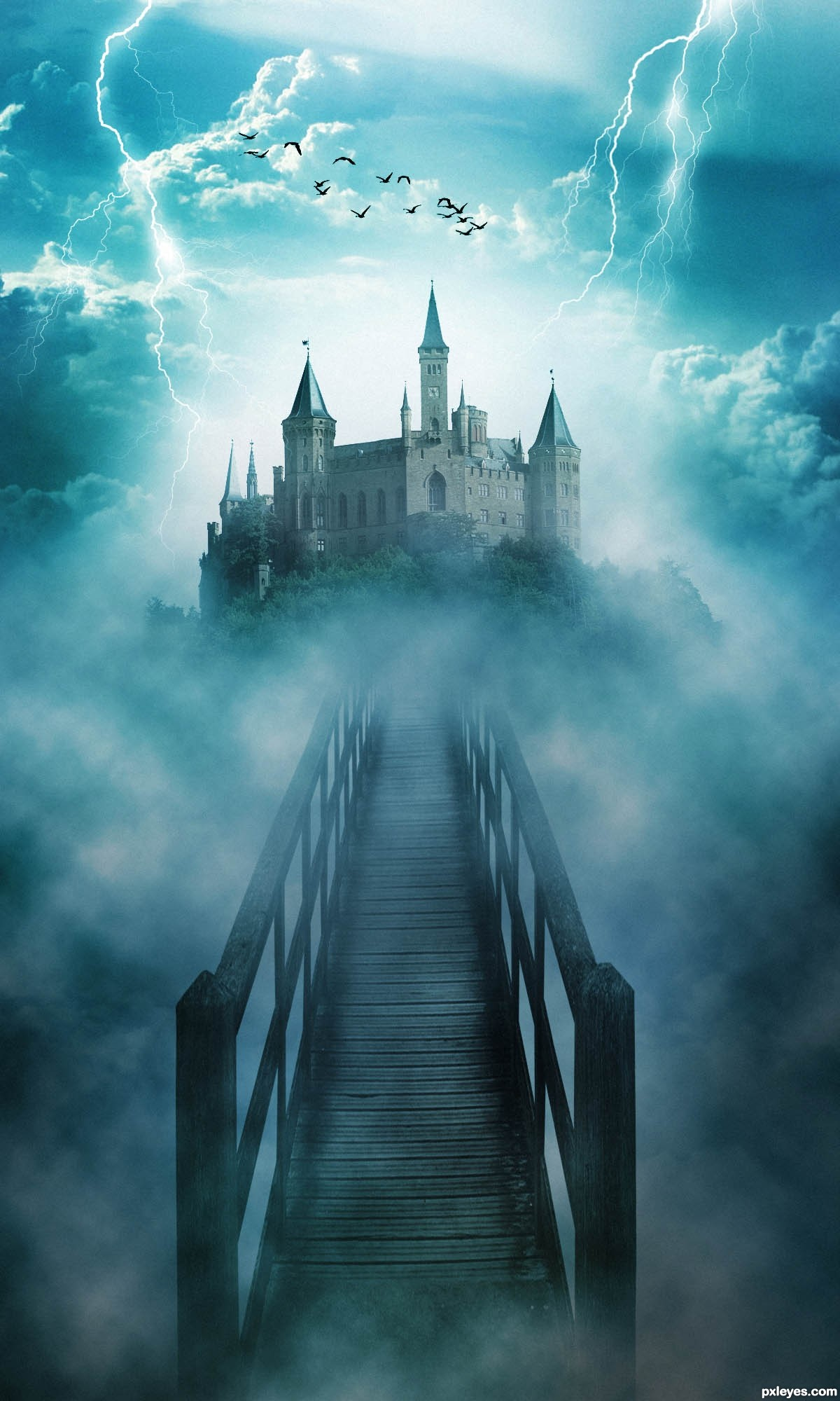 Animal House Wallpaper Creepy Castle Picture By Christiandarmali For House In