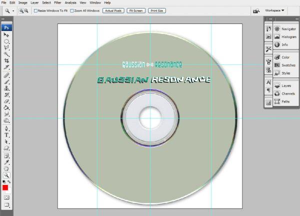 Create a Professional Music Album Template - Photoshop Tutorial