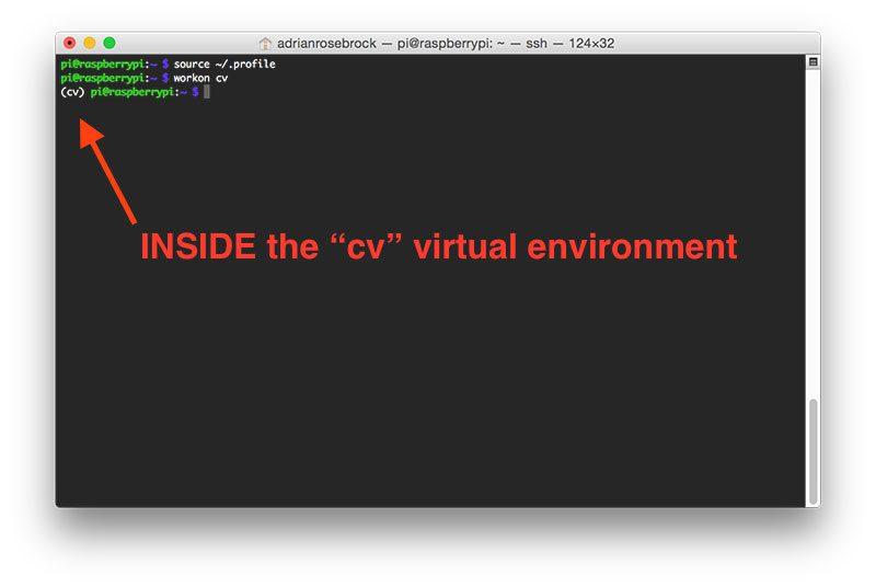 Install guide Raspberry Pi 3 + Raspbian Jessie + OpenCV 3