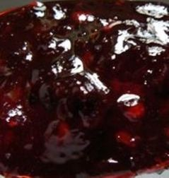 Pyrcantha jelly made from pyracantha berries