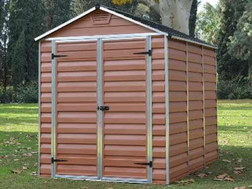 Rion Palram SkyLight Amber Shed review