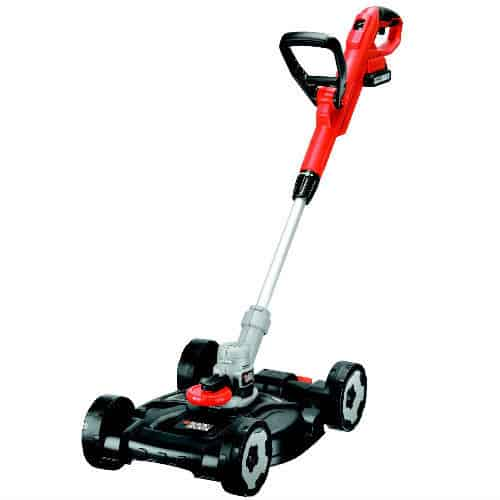 Black + Decker STC1820CM-GB 18V Lithium Strimmer with Lawm Mower Deck Attachment Review