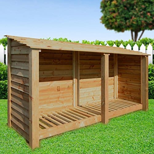 normanton 4ft log store review