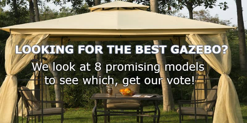 Top 8 best gazebos for 2017 with detailed reviews - Gardens central gazebos designs placement ideas ...