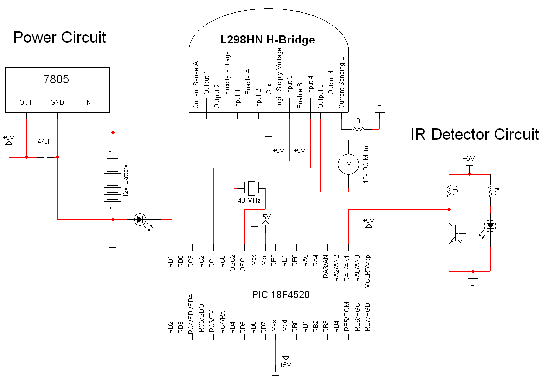 optical encoder circuit diagram also with motor encoder circuit
