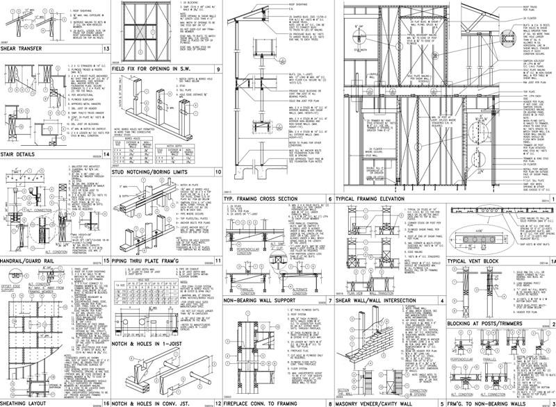 hvac drawings samples pdf