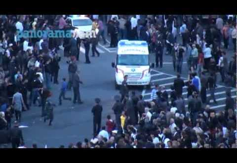 بالفيديو: حفل غنائي في ارمانيا .. يتحول إلي نيران تحرق 144 شخص